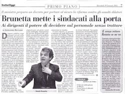 ItaliaOggi del 19 Gennaio 2011