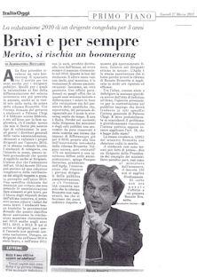 ItaliaOggi del 17 Marzo 2011