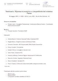 Seminario 18 Maggio