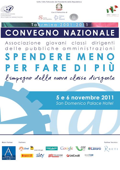 Locandina Convegno Nazionale 5 e 6 Novembre