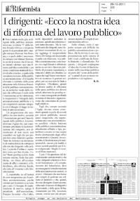 Il Riformista del 20 Ottobre 2011