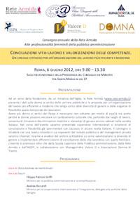 Programma del Convegno del 6 Giugno 2012