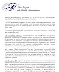 """Documento su DDL """"Anticorruzione"""""""