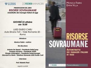 Invito presentazione Risorse Sovrumane