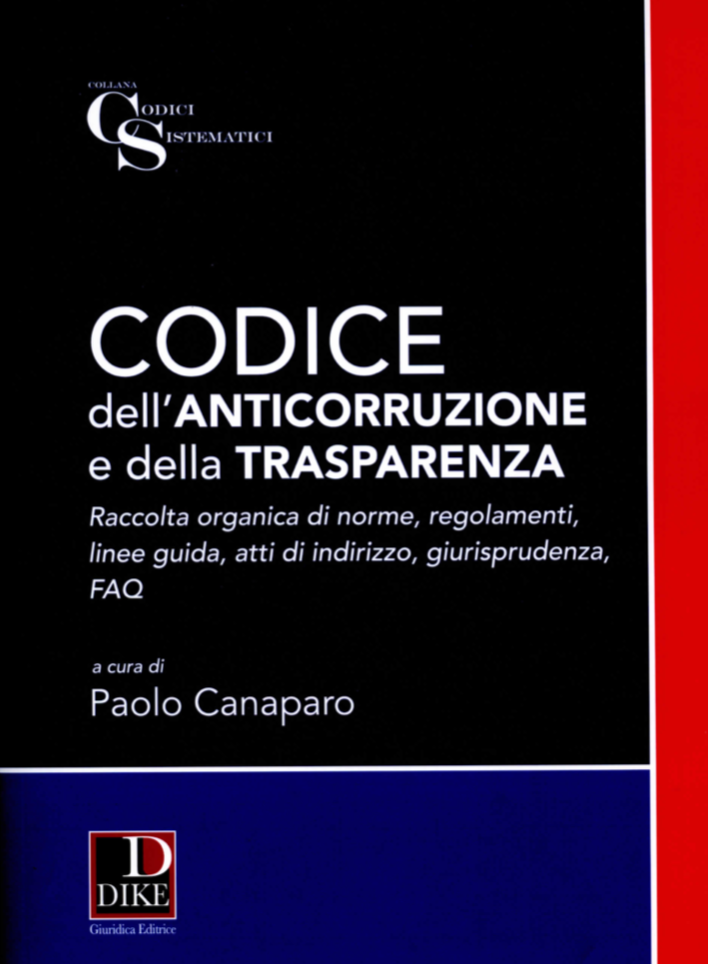 Codice dell'anticorruzione e della trasparenza